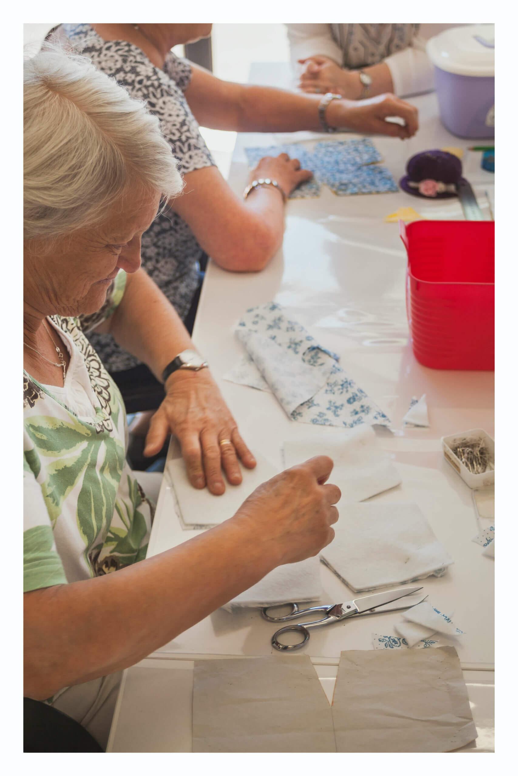 réalisation de patron atelier de couture à caen